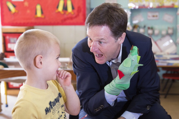 Puppet「Nick Clegg To Launch European Election Campaign」:写真・画像(15)[壁紙.com]