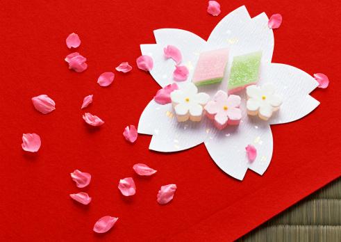 ひな祭り「Jelly」:スマホ壁紙(5)