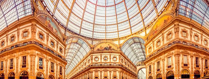 Milan「Galleria Vittorio Emanuele II in Mailand」:スマホ壁紙(14)
