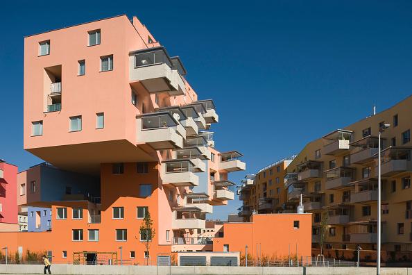 Apartment「Wien, Terrassenhaus Buchengasse, Architekt Rüdiger Lainer 2008」:写真・画像(4)[壁紙.com]