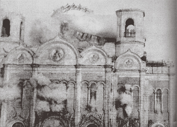 Church「The Demolition of the Cathedral of Christ the Saviour in Moscow, 1931」:写真・画像(15)[壁紙.com]