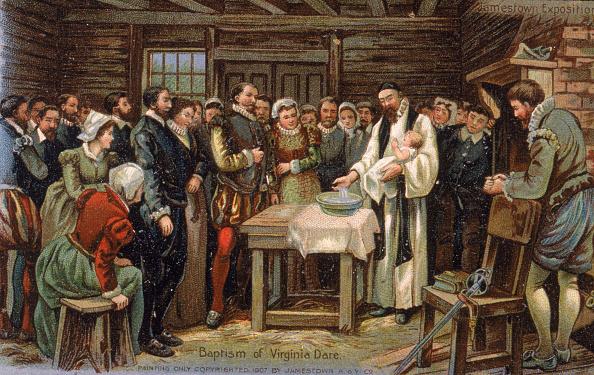 Colonial Style「Baptism Of Virginia Dare 」:写真・画像(19)[壁紙.com]