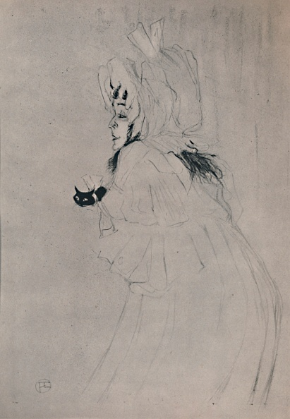 アート「Miss May Belfort Welcoming Circa 1895」:写真・画像(4)[壁紙.com]