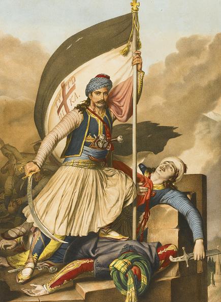 1820-1829「Nikolakis Mitropoulos From Voyage à Athènes et à Constantinople, 1825」:写真・画像(2)[壁紙.com]