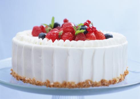クリスマスケーキ「Berry shortcake」:スマホ壁紙(1)