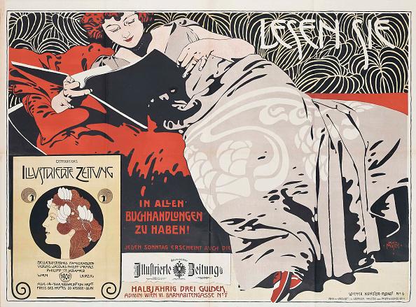 Art Nouveau「Lesen Sie! (Read!)」:写真・画像(14)[壁紙.com]