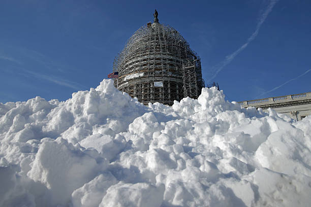 Mid Atlantic States Prepare For Large Snow Storm:ニュース(壁紙.com)
