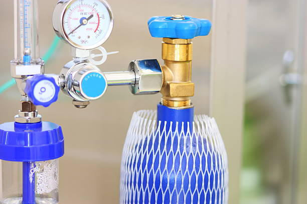 A blue medical oxygen concentrator:スマホ壁紙(壁紙.com)