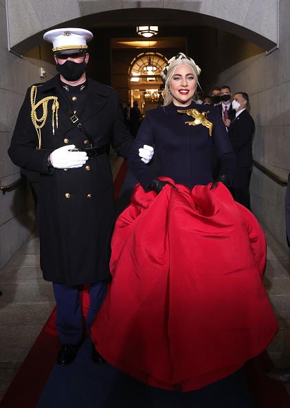 Lady Gaga「Joe Biden Sworn In As 46th President Of The United States At U.S. Capitol Inauguration Ceremony」:写真・画像(17)[壁紙.com]