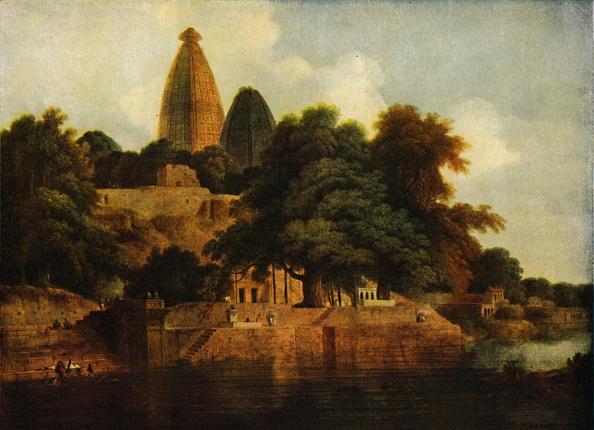 Physical Geography「Hindu Temple At Bindrabund On The Jumna」:写真・画像(5)[壁紙.com]