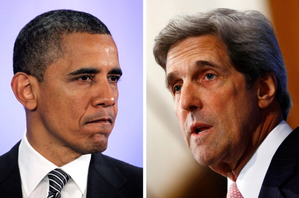 John Kerry「(FILE) Obama Names Senator John Kerry As Next US Secretary Of State」:写真・画像(1)[壁紙.com]