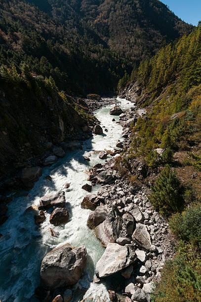 Dudh Kosi river below Tengboche:スマホ壁紙(壁紙.com)