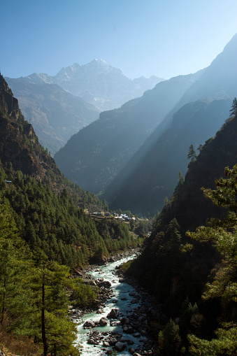 Khumbu「Dudh Kosi River on Mount Everest Trek」:スマホ壁紙(6)