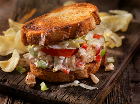 Toasted Sandwich「Toasted Chicken Salad Sandwich on Sourdough」:スマホ壁紙(6)