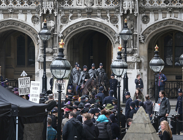 Filming「Suffragette Movie The First To Use Parliament As A Location」:写真・画像(12)[壁紙.com]