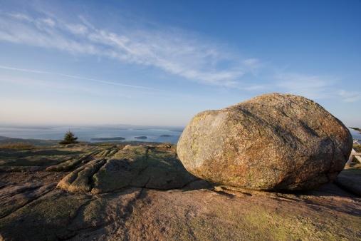 Large「Boulder on Cadillac Mountain Acadia Maine」:スマホ壁紙(12)