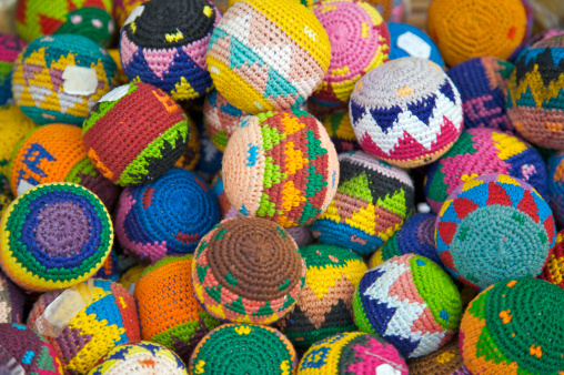 Embroidery「Colorful knit balls, Cozumel, Quintana Roo, The Yucatan, Mexico」:スマホ壁紙(17)
