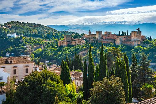 Granada Province「The Alhambra at Granada Spain」:スマホ壁紙(11)