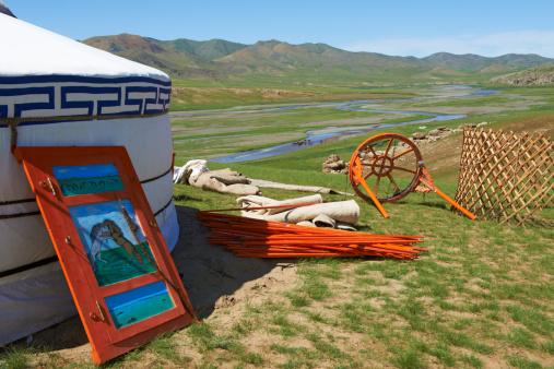 Orkhon Valley「Mongolia, Ovorkhangai, Okhon valley, Nomad camp」:スマホ壁紙(6)
