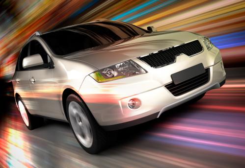 Driving「SUV car driving fast」:スマホ壁紙(10)