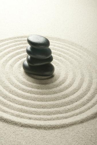 Japanese Rock Garden「Tranquil Pebbles」:スマホ壁紙(9)