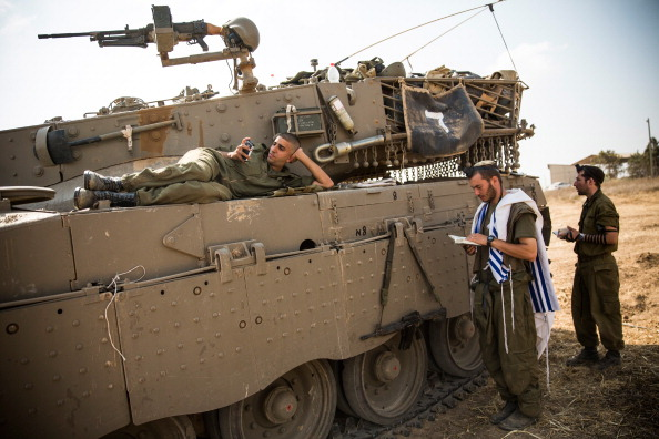 Israel-Palestine Conflict「Tensions Remain High At Israeli Gaza Border」:写真・画像(19)[壁紙.com]