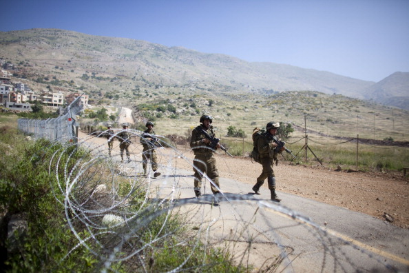 Army Soldier「Israel Reinforces Border With Syria」:写真・画像(9)[壁紙.com]