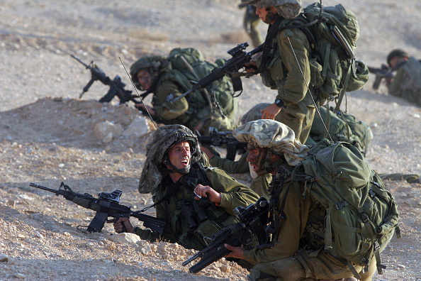 West Bank「Israeli Soldiers Training」:写真・画像(4)[壁紙.com]