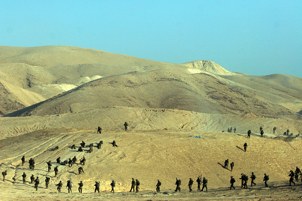 West Bank「Israeli Soldiers Training」:写真・画像(18)[壁紙.com]