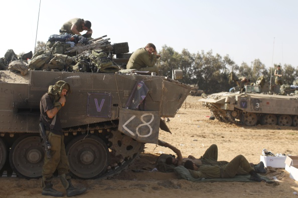 Rest Area「Tensions Remain High At Israeli Gaza Border」:写真・画像(12)[壁紙.com]