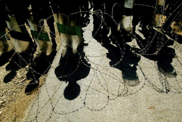 Shadow「Protestors Hold Weekly Demonstration Against West Bank Separation Fence」:写真・画像(1)[壁紙.com]