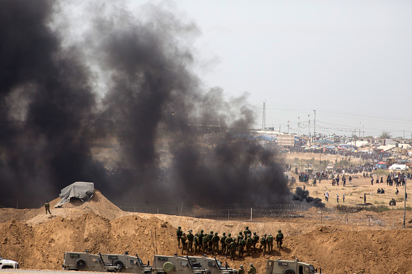 Gaza Strip「Riots on Israel-Gaza Border」:写真・画像(12)[壁紙.com]