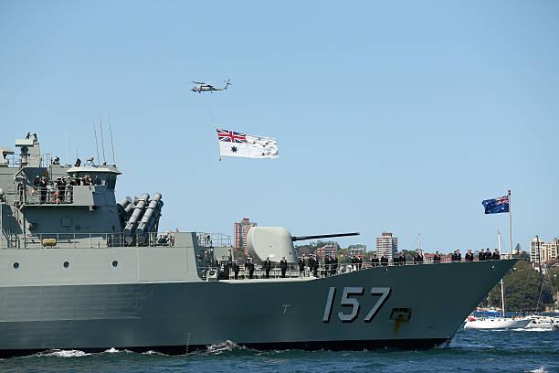Warships Enter Sydney Harbour Ahead Of 2013 International Fleet Review:ニュース(壁紙.com)