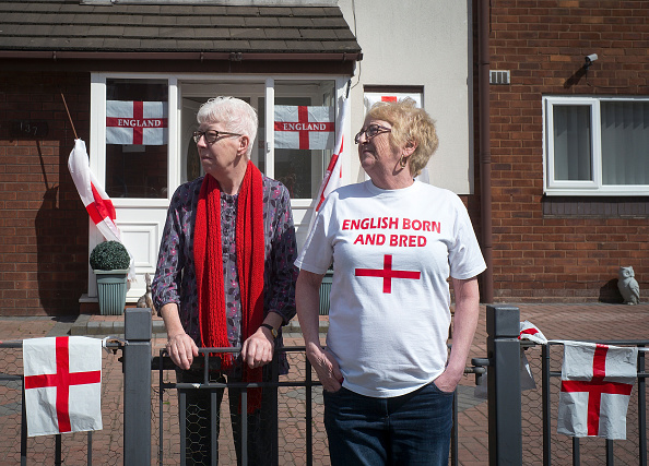 Patriotism「St George's Day Parade In Manchester」:写真・画像(5)[壁紙.com]