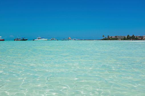 透明「Clear water on beaches of Isla Mujeres, Mexico」:スマホ壁紙(15)