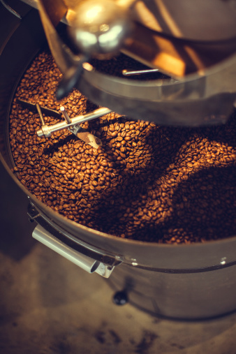 Cast Iron「Coffee Roaster in Action」:スマホ壁紙(8)