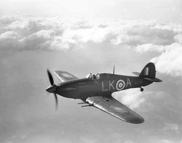 Military Airplane「Hawker Hurricane」:写真・画像(1)[壁紙.com]
