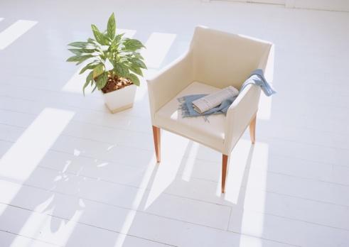 スカーフ「Armchair and plant」:スマホ壁紙(9)