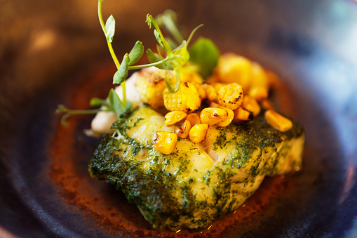 Fennel「Fish with dill and char-grilled baby corn」:スマホ壁紙(17)