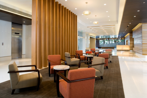 Hotel Reception「Building Lobby」:スマホ壁紙(11)