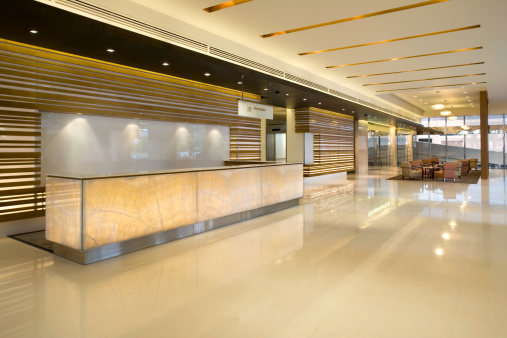 Corporate Business「Building Lobby Reception」:スマホ壁紙(5)