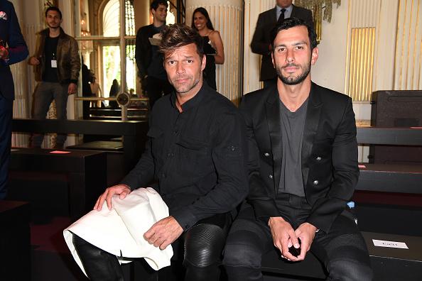 Ricky Martin「Balmain : Front Row  - Paris Fashion Week - Menswear Spring/Summer 2017」:写真・画像(15)[壁紙.com]