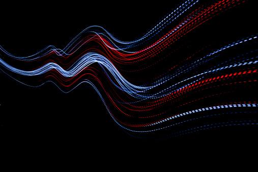 Light Painting「abstract coloured light energy motion trails」:スマホ壁紙(12)
