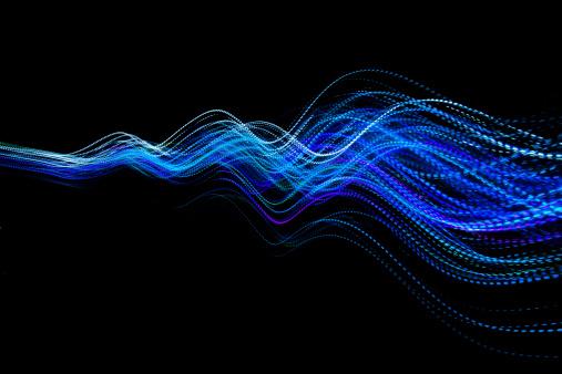 Vitality「abstract coloured light energy motion trails」:スマホ壁紙(13)