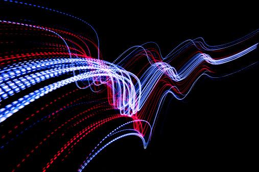Light Painting「abstract coloured light energy motion trails」:スマホ壁紙(17)