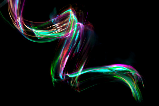 Light Painting「abstract coloured light energy motion trails」:スマホ壁紙(13)