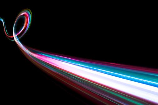 Light Painting「abstract coloured light energy motion trails」:スマホ壁紙(14)