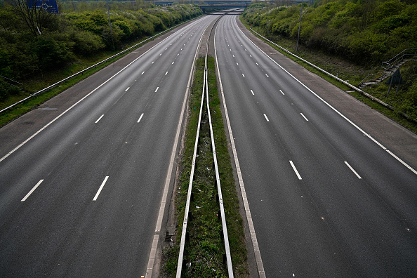 Multiple Lane Highway「Britain Celebrates Easter Under Coronavirus Lockdown」:写真・画像(2)[壁紙.com]