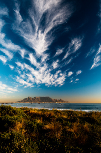 South Africa「View of table Mountain」:スマホ壁紙(4)