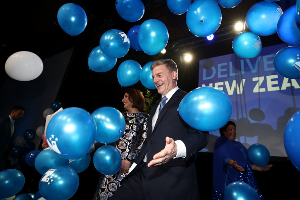 Wave「New Zealand Parties Address Their Supporters Ahead Of Election Verdict」:写真・画像(6)[壁紙.com]